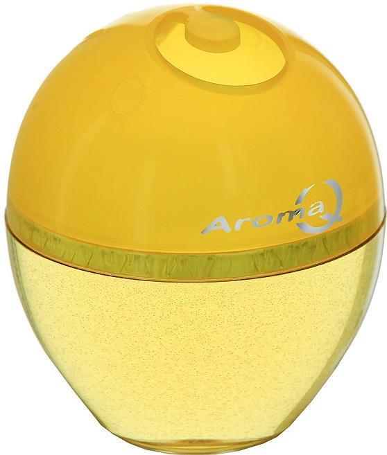 Освежитель-ароматизатор воздуха Aroma Q, лимон004279Освежитель – ароматизатор (гелеобразный) предназначен для различных помещений, прекрасно впишется в любой интерьер, крепиться на любую поверхность. Благодаря специальной формуле поглотит неприятные запахи и окутает тонким ароматом