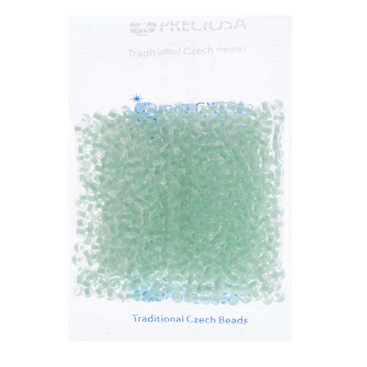 Бисер Preciosa, прозрачный, с фосфорным центром, цвет: мятный (68153), размер 6/0, 50 г7703123Прозрачный бисер Preciosa, изготовленный из стекла круглой формы с фосфорным центром, позволит вам своими руками создать оригинальные ожерелья, бусы или браслеты, а также заняться вышиванием. В бисероплетении часто используют бисер разных размеров и цветов. Он идеально подойдет для вышивания на предметах быта и женской одежде. Изготовление украшений - занимательное хобби и реализация творческих способностей рукодельницы, это возможность создания неповторимого индивидуального подарка. Размер бисера: 6/0.