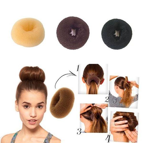 Anna Belle Cosmetic Валик для волос, цвет: черный ( ВПРч )