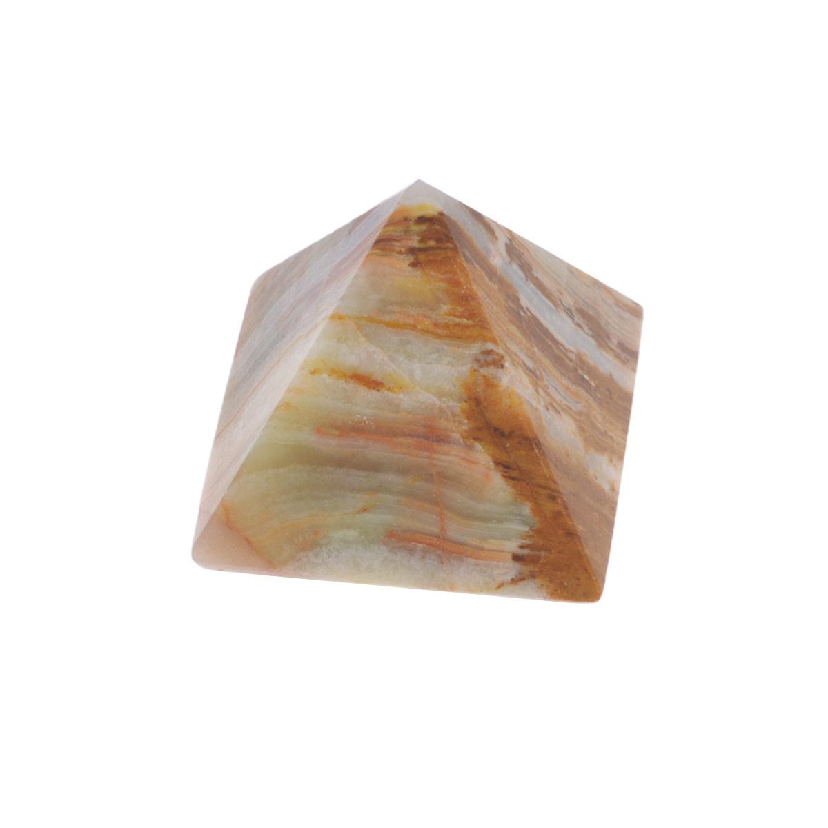 Сувенир Sima-land Пирамида, 3 см х 3 см х 3,5 см593718Сувенир Sima-land Пирамида выполнен из натурального оникса. Этот камень помогает снимать стрессы, облегчает боль, способствует эмоциональному равновесию и самоконтролю. Его применяют при расстройстве нервной системы, депрессиях, бессоннице, при лечении болезней сердца. Оникс хорошо снимает боли и уменьшает воспаления. Сувенир Sima-land Пирамида станет отличным подарком на любой праздник и дополнит интерьер вашей комнаты. УВАЖАЕМЫЕ КЛИЕНТЫ! Обращаем ваше внимание на тот факт, что цветовой оттенок товара может отличатся от представленного на изображении, поскольку фигурка выполнена из натурального камня. Учитывайте это при оформлении заказа.