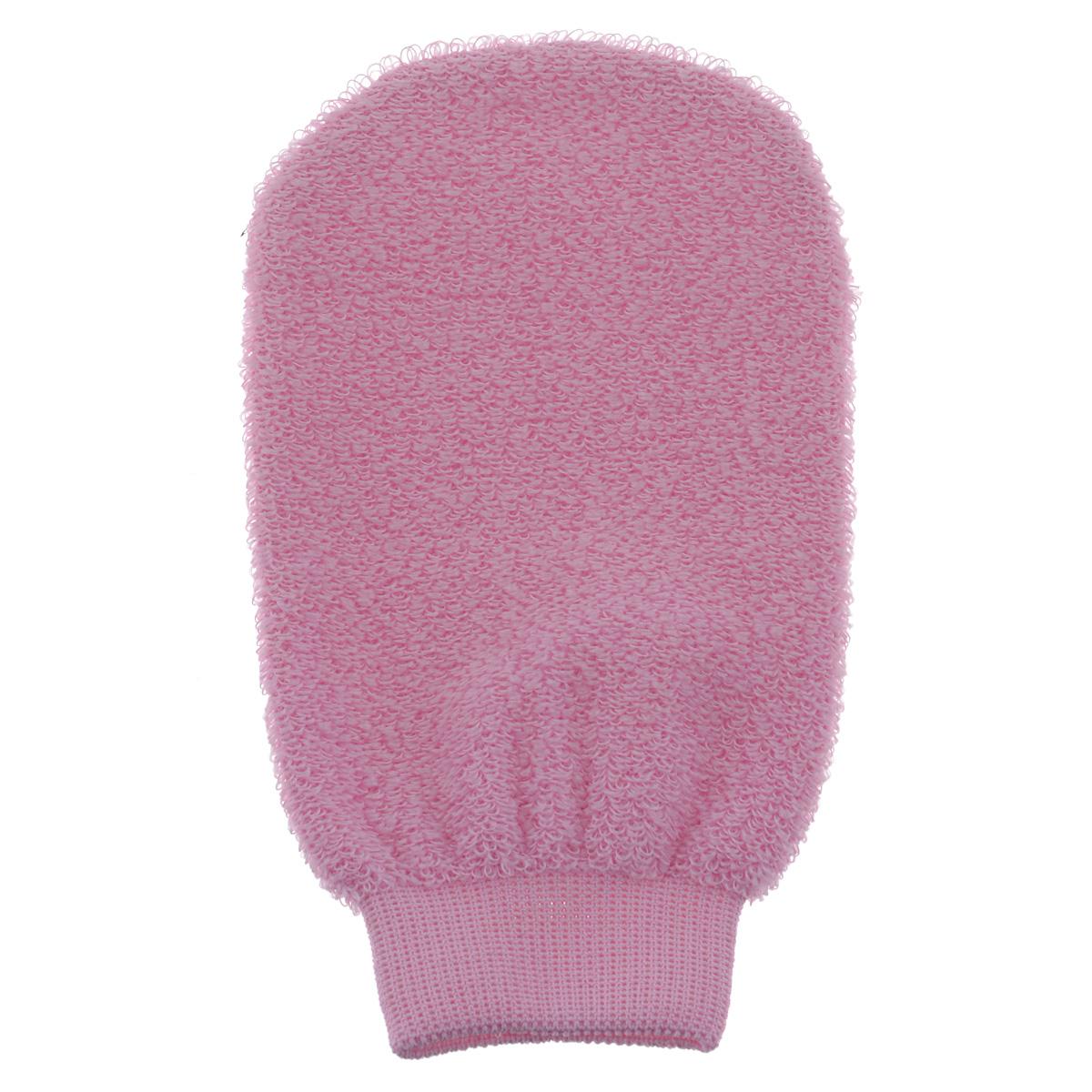 Мочалка-рукавица для лица Riffi, розовый900_розовыйМочалка-рукавица Riffi деликатно ухаживает за кожей лица, обладает активным отличным пилинговым действием, тонизируя, массируя и эффективно очищая вашу кожу. Слегка влажной рукавицей можно очищать лицо от макияжа даже без применения косметических средств. Рукавица не только эффективно чистит самые глубокие поры, но и делает мягкий деликатный массаж. Стимулирует кровообращение, обеспечивает омолаживающий эффект. Особая мягкость мочалки позволяет использовать ее для самой нежной и чувствительной кожи.
