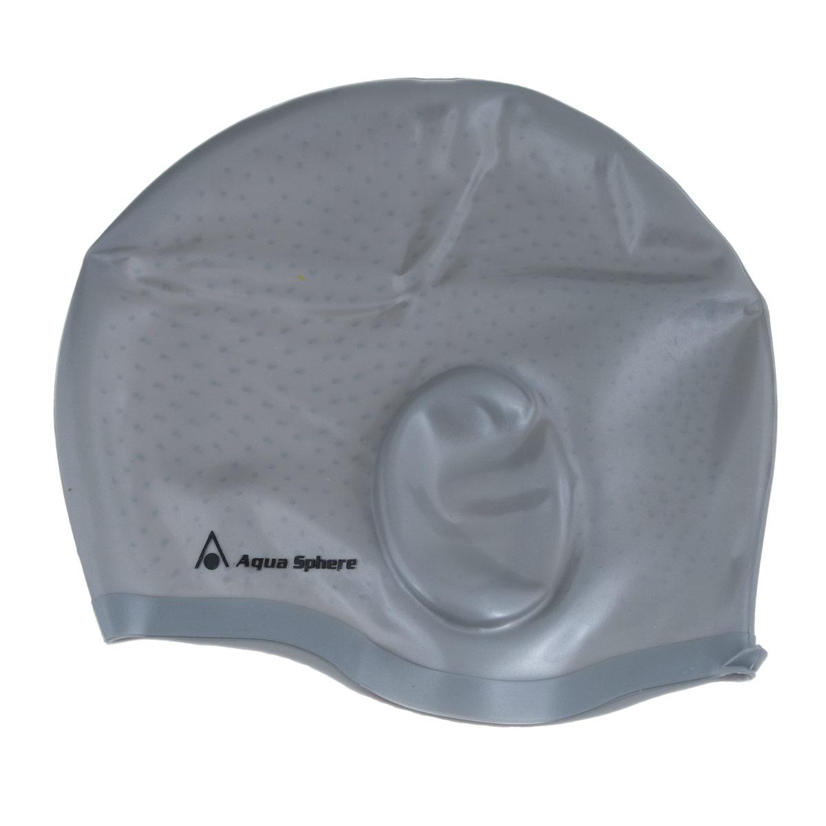 Шапочка для плавания Aqua Sphere Aqua Glide, цвет: серебристыйSP 20919SАнатомическая силиконовая шапочка Aqua Sphere Aqua Glide выполнена из высококачественного гипоаллергенного силикона. Специальные ушные карманы уменьшают давление шапочки на уши и предотвращают ее соскальзывание. Пупырчатая внутренняя поверхность также препятствует соскальзыванию. Шапочка обеспечивает 100% защиту от ультрафиолетового излучения.