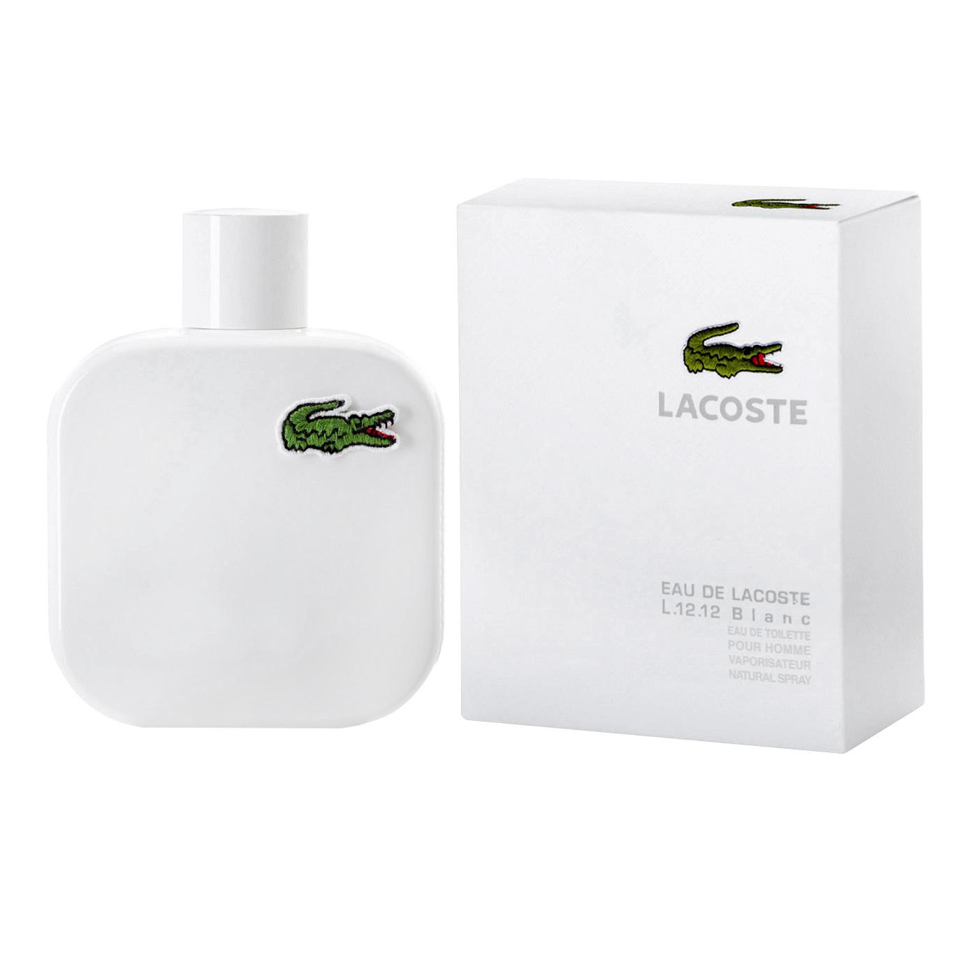 Lacoste Туалетная вода Eau de Lacoste L.12.12 Blanc, мужская, 50 мл0737052895956Аромат Чистый и освежающий, как белоснежно-белая рубашка поло. Аромат раскрывается свежими нотами грейпфрута и розмарина, окруженные аккордом туберозы в сердце. В базе – ноты кожи, ветивера и кедрового дерева, придающие композиции узнаваемую мужественность. Основные ноты в композиции: грейпфрут, розмарин, кардамон, хвоя кедра, тубероза, иланг-иланг, смола олибанум, кедр, ветивер. История Созданная Рене Лакостом в 1920-х годах, рубашка поло LACOSTE L.12.12 ознаменовала рождение современной спортивной одежды и приобрела популярность далеко за пределами корта. L.12.12 – это L – LACOSTE, 1 – уникальная ткань (хлопок пике), 2 – короткий рукав, 12 – номер модели, которую выбрал и утвердил Рене Лакост. Туалетная вода - один из самых популярных видов парфюмерной продукции. Туалетная вода содержит 4-10% парфюмерного экстракта. Главные достоинства данного типа продукции заключаются в доступной цене, разнообразии форматов (как правило, 30, 50, 75, 100...