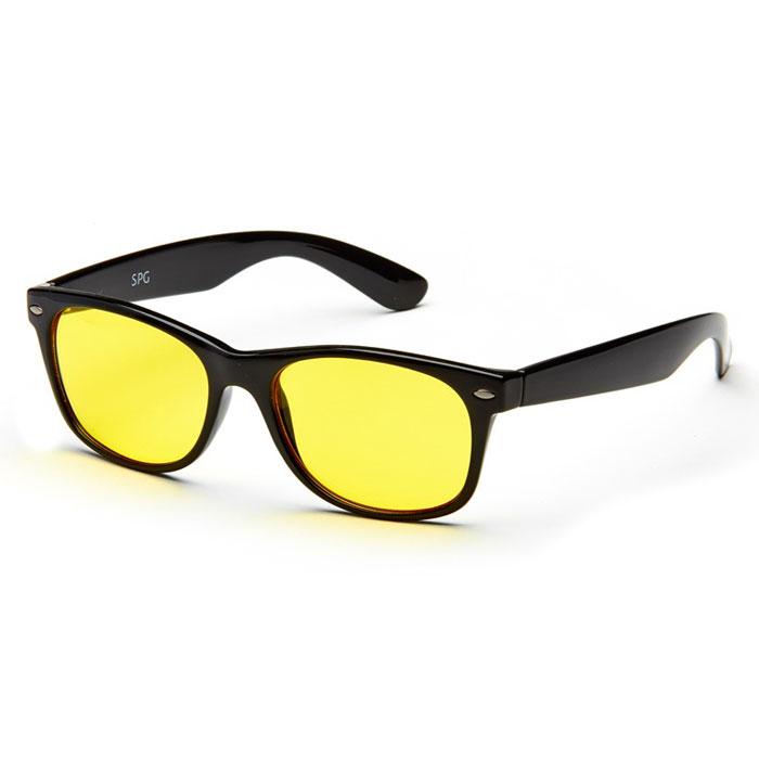 SP Glasses AD021 Luxury, Black водительские очкиAD021Водительские очки SP Glasses AD021 Luxury подарят комфорт вашим глазам во время езды на автомобиле. Очки значительно улучшат видимость в дороге при непогоде и снижают нагрузку на глаза. Даже длительная дорога в этих очках будет менее утомительной. В них также рекомендуется ездить в вечернее и ночное время, благодаря тому очки повышают контрастность и помогают лучше ориентироваться во время тумана или дождя. При этом они отлично блокируют ультрафиолетовые лучи (UV 400). Наносники: нерегулируемые Геометрия: овальная