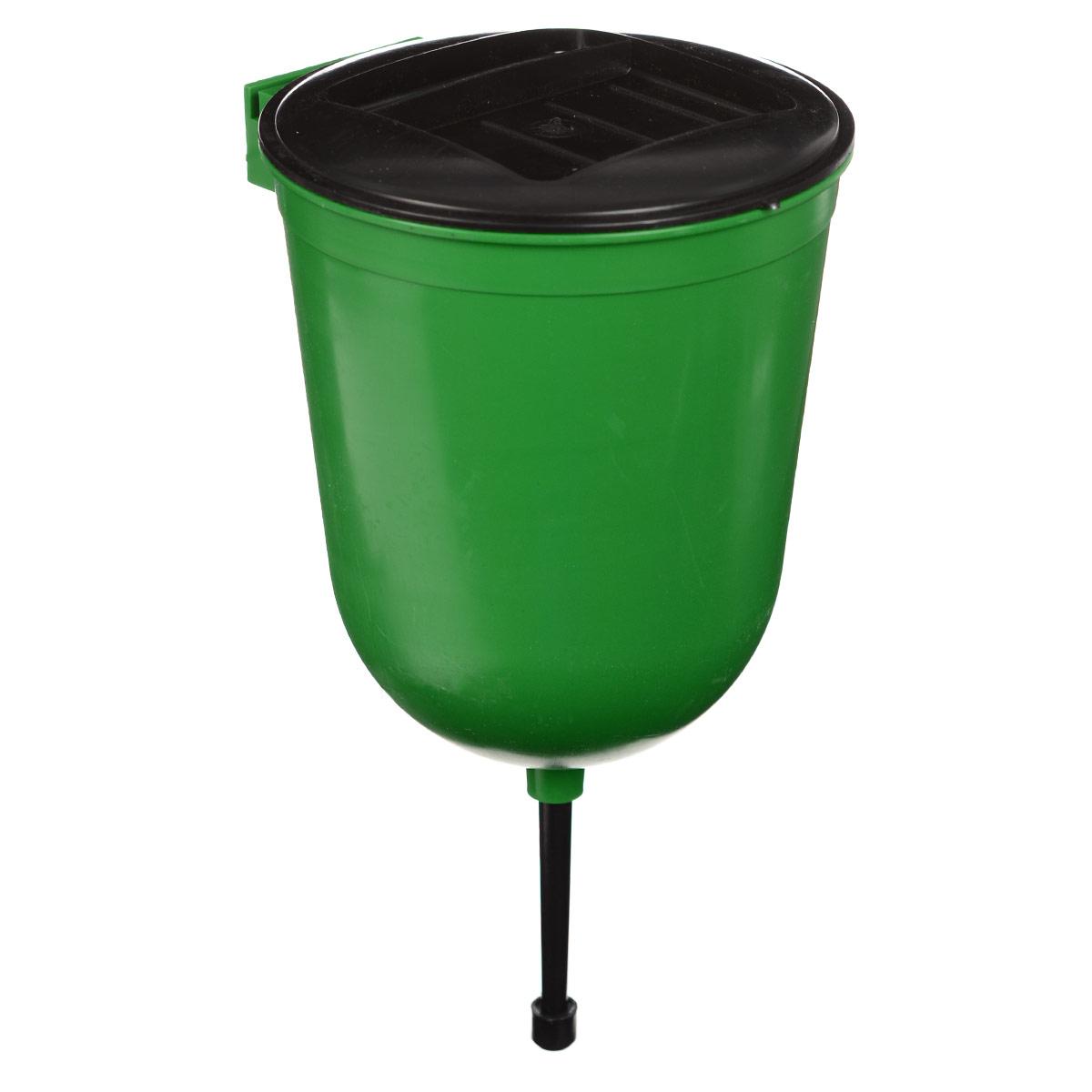 Рукомойник Калита, цвет: зеленый, черный, 3 л77383_зеленыйРукомойник Калита изготовлен из пластика. Он предназначен для умывания в саду или на даче. Яркий и красочный, он отлично впишется в окружающую обстановку. Петли предоставляют вертикальное крепление рукомойника. Изделие оснащено крышкой, которая предотвращает попадание мусора. Также на крышке имеется выемка для мыла. Рукомойник Калита надежный и удобный в использовании.