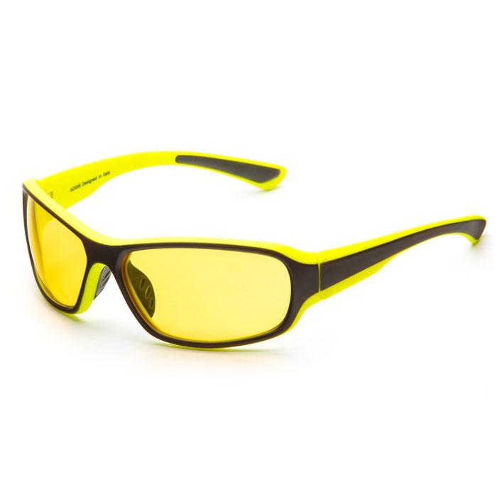 SP Glasses AD058 Premium, Grey Lime водительские очкиAD058SP Glasses AD058 Premium - релаксационные комбинированные очки для активного отдыха с желтым светофильтром. Они улучшают видимость, повышают контрастность в вечернее и ночное время, туман, дождь, а также защищают от ослепления фарами встречных автомобилей. Отлично показывают себя в условиях плохой видимости. Наносники: нерегулируемые