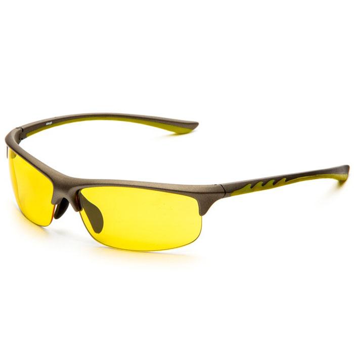 SP Glasses AD036 Premium, Grey Yellow водительские очкиAD036SP Glasses AD036 Premium - релаксационные комбинированные очки для активного отдыха с желтым светофильтром. Они улучшают видимость, повышают контрастность в вечернее и ночное время, туман, дождь, а также защищают от ослепления фарами встречных автомобилей. Отлично показывают себя в условиях плохой видимости. Наносники: нерегулируемые