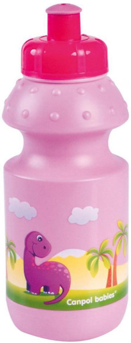 Поильник Canpol babies, от 12 месяцев, цвет: розовый, 360 мл