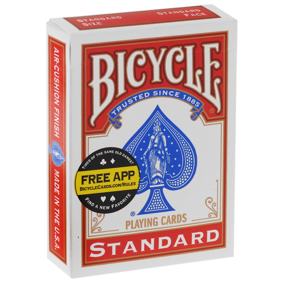 Карты для фокусов Bicycle Blank Face, цвет: красный, 56 штК-117Карты для фокусов Bicycle Blank Face, изготовлены из картона с пластиковым покрытием. Колода имеет классический покерный размер и дизайн, создана на основе колоды Bicycle Standard. Карты для фокусов Bicycle Blank Faceс пустой лицевой стороной и рубашкой синего или красного цвета применяется в различных карточных трюках, позволяя создавать оригинальные эффекты. К тому же рисунок рубашки полностью соответствует рисунку Bicycle Standart, поэтому, если Вам нравятся качественные карточные трюки, карты для фокусов Bicycle Blank Face станут прекрасным и нужным дополнением к обычным игральным картам Bicycle, а прекрасное качество исполнения доставит Вам максимум удовольствия от процесса. Обращаем ваше внимание! Данный комплект карт поставляется без заводской целлофановой упаковки, что является особенностью всех карт для фокусов.