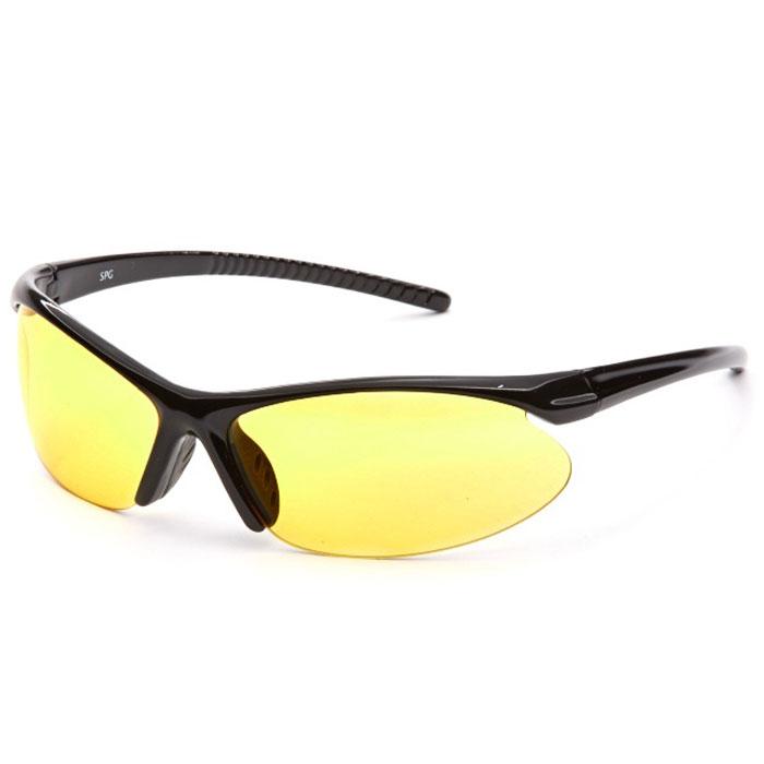 SP Glasses AD024 Premium, Black водительские очкиAD024SP Glasses AD024 Premium - релаксационные комбинированные очки для активного отдыха с желтым светофильтром. Они улучшают видимость, повышают контрастность в вечернее и ночное время, туман, дождь, а также защищают от ослепления фарами встречных автомобилей. Отлично показывают себя в условиях плохой видимости. Наносники: нерегулируемые Геометрия: овальная