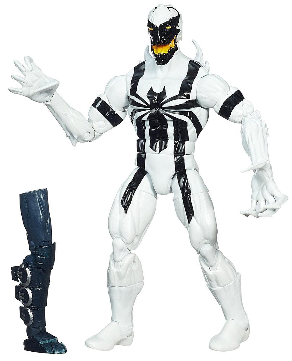 Фигурка Spider-Man Legends: Anti-Venom, 15 см. A6655EU4_A1905A6655EU4_A1905Фигурка Spider-man Legends: Anti-Venom станет прекрасным подарком для любого маленького поклонника супергероев. Она выполнена из прочного яркого пластика в виде супергероя Анти-Венома. Голова, руки и ноги фигурки подвижны, что позволит придавать ей различные позы. В комплект также входит элемент в виде ноги Хобгоблина. Собрав все шесть фигурок серии Legends, вы сконструируете фигурку Хобгоблина полностью. Ваш ребенок будет часами играть с этой фигуркой, придумывая различные истории с участием супергероя. Анти-Веном - бывший суперзлодей Веном, вставший на пусть исправления. Является близким другом и союзником Человека-Паука. Он стал виджиланте и, взяв напарницу, начал бороться с преступностью.