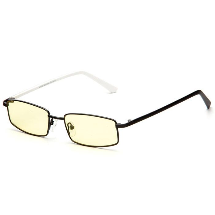 SP Glasses AF028 Premium, Black White компьютерные очкиAF028_BWSP Glasses AF028 Premium - компьютерные очки с желтыми линзами, которые предназначены для защиты глаз от вредного излучения мониторов, ноутбуков, игровых приставок, электронных книг, телевизоров. Их линзы изготовлены из качественного прочного пластика и оснащены специальными светофильтрами, позволяющими не перенапрягать глаза при длительной работе за компьютером и с другими подобными устройствами с дисплеями и мониторами. Очки эффективно уменьшают слезоточивость и резь в глазах, снижают утомляемость. Также их можно использовать для защиты глаз от света люминесцентных ламп, при работе с мелкими деталями и движущимися элементами. Наносники: регулируемые Геометрия: прямоугольная