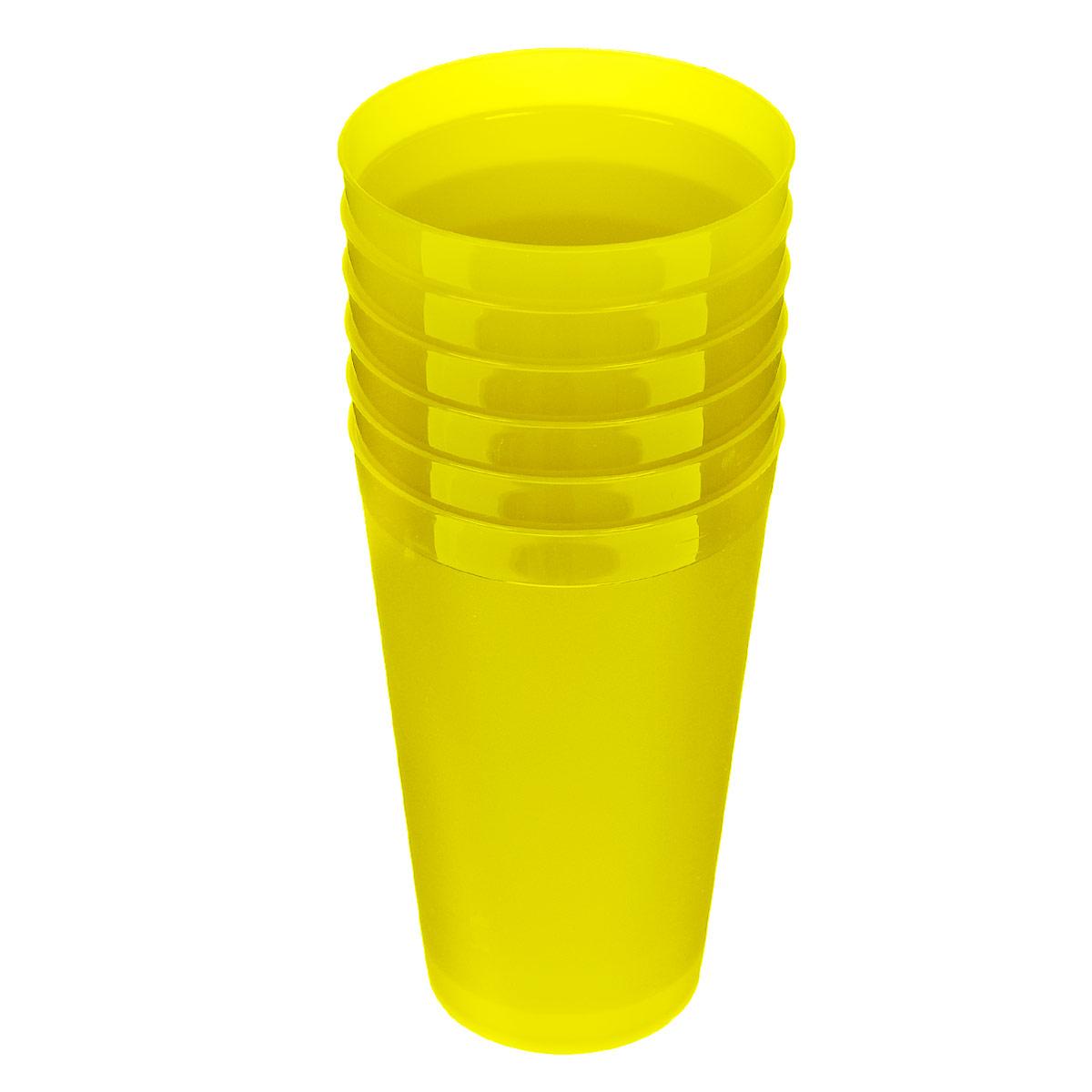 Набор стаканов Полимербыт, цвет: желтый, 400 мл, 6 шт4315006 желтыйНабор Полимербыт состоит из шести стаканчиков объемом по 0,4 л. Подойдет как для дома, так и для отдыха на природе. Компактный набор без всяких проблем убирается в любой карман или сумку. Стаканчики выполнены из прочного пластика. Диаметр по верхнему краю: 8 см. Диаметр по дну: 5,5 см. Высота: 13 см.