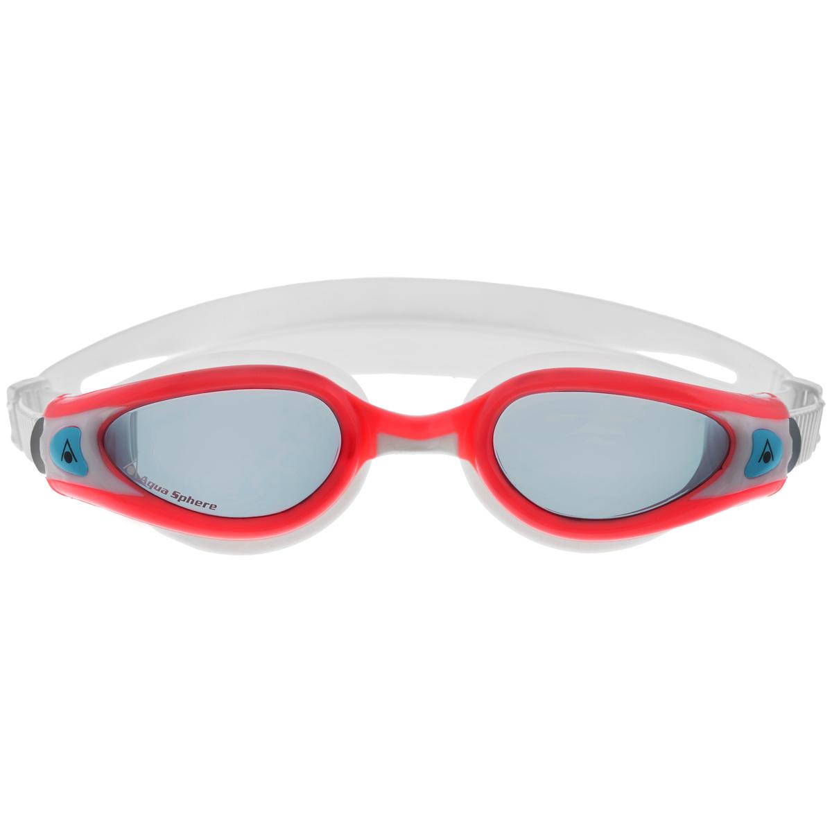 Очки для плавания Aqua Sphere Kaiman Exo Lady, цвет: белый, розовыйTN 175720Модные и стильные очки Kaiman Exo Lady идеально подходят для плавания в бассейне или открытой воде. Особая технология изогнутых линз позволяет обеспечить превосходный обзор в 180°, не искажая при этом изображение. Очки дают 100% защиту от ультрафиолетового излучения. Специальное покрытие препятствует запотеванию стекол. Новая технология каркаса EXO-core bi-material обеспечивает максимальную стабильность и комфорт. Материал: софтерил, plexisol.