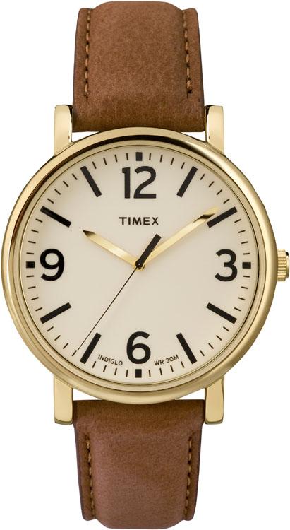 Часы наручные мужские Timex, цвет: коричневый, золотой. T2P527T2P527Стильные мужские наручные часы Timex со стальным корпусом идеально подойдут для человека, ценящего качественные и практичные вещи. Циферблат изделия оформлен арабскими цифрами, отметками, часовой, минутной и секундной стрелками, и дополнен логотипом Timex. Часы оснащены кварцевым механизмом, устойчивым к царапинам минеральным стеклом и подсветкой циферблата Indiglo. Модель обладает степенью влагозащиты 3 atm. Изделие дополнено ремешком из натуральной кожи, позволяющим максимально комфортно и быстро снимать и одевать часы при помощи пряжки. Часы поставляются на специальной подушечке в стильной коробке с логотипом Timex. Часы Timex подчеркнут мужской характер и отменное чувство стиля их обладателя.