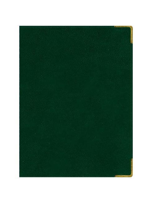 Ежедневник А6 Недатированный Ancient (темно-зеленый) 152л. (BUSINESS PRESTIGE) Искусственная кожа с поролономЕКП61415204Разметка: . Бумага: . Формат: А6. Пол: Унисекс. Особенности: металлические уголки, цветной торец (золото), бумага тонированная, ляссе 2шт..