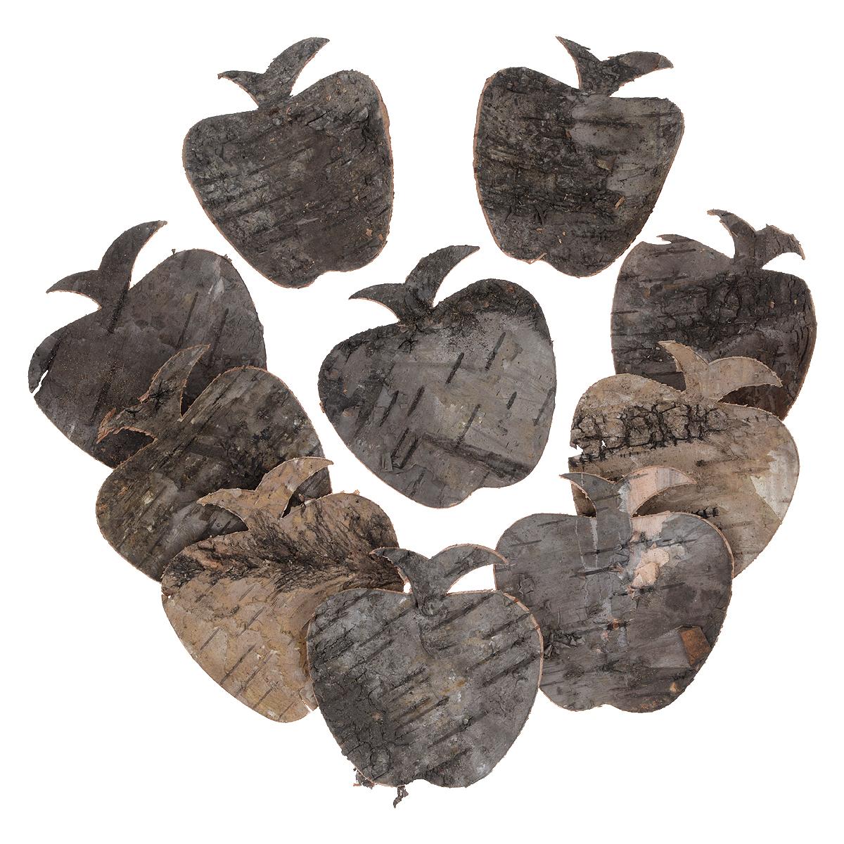Декоративный элемент Dongjiang Art Яблоко, цвет: серый, бежевый, 8 шт7709016Декоративный элемент Dongjiang Art Яблоко, изготовленный из натуральной коры дерева, предназначен для украшения цветочных композиций. Изделие выполнено в форме яблока, которое можно также использовать в технике скрапбукинг и многом другом. Флористика - вид декоративно-прикладного искусства, который использует живые, засушенные или консервированные природные материалы для создания флористических работ. Это целый мир, в котором есть место и строгому математическому расчету, и вдохновению.