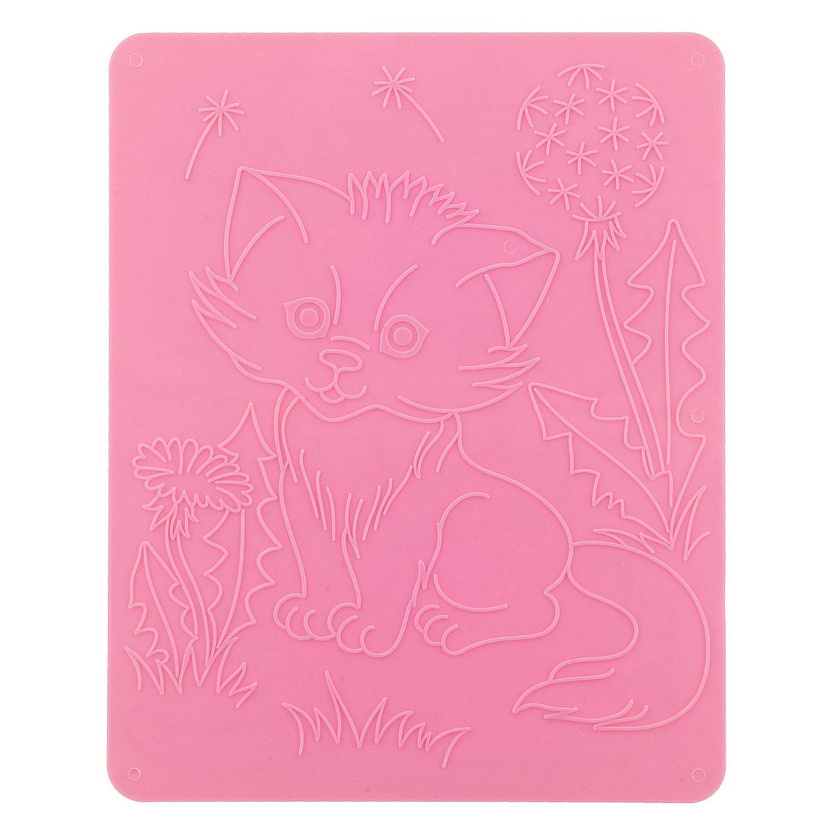 Трафареты рельефные Луч Кошки18С 1177-08Трафареты рельефные Луч серии Кошки, выполненные из безопасного пластика, предназначены для детского творчества. Трафареты не имеют традиционных прорезей - рисунок выступает над плоской поверхностью. Чтобы получить рисунок на бумаге, трафарет кладется под лист, а сверху бумага штрихуется с помощью восковых карандашей. Метод штриховки особенно полезен при подготовке ребенка к школе, развивается мелкая моторика, зрительное восприятие, аккуратность, и вместе с тем, ребенок с увлечением учится рисовать. Также трафарет предназначен для развития зрительно-двигательной координации и навыков художественной композиции. В упаковке один двусторонний трафарет с изображением милых котят. Трафареты предназначены для работы с восковыми карандашами.