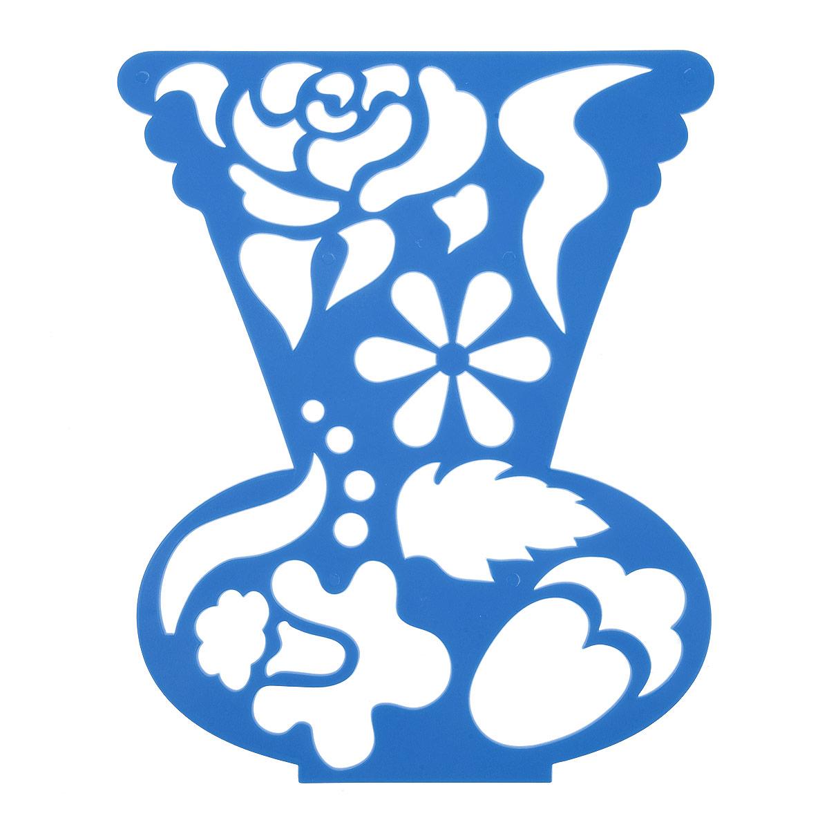 Луч Трафарет фигурный Ваза с цветами цвет синий17С 1147-08Трафарет фигурный Луч Ваза с цветами, выполненный из безопасного пластика, предназначен для детского творчества. При помощи этого трафарета ребенок может создать красивый букет цветов и поместить его в вазу. Трафарет можно использовать для рисования цветов и композиций из них, а также для изготовления аппликаций. Трафареты предназначены для развития у детей мелкой моторики и зрительно-двигательной координации, навыков художественной композиции и зрительного восприятия.