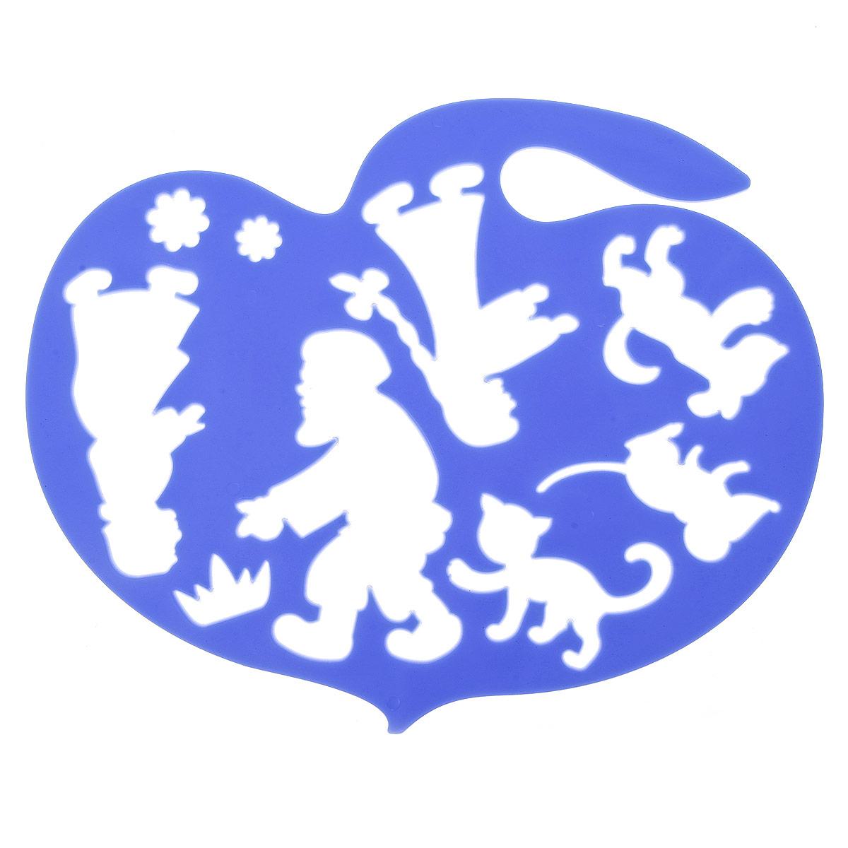 Луч Трафарет фигурный Репка цвет синий20С 1360-08Трафарет фигурный Луч Репка, выполненный из безопасного пластика, предназначен для детского творчества. При помощи этого трафарета ребенок может нарисовать любимых сказочных персонажей. На фигурном трафарете размещены контуры героев сказки Репка. С помощью трафарета можно воссоздать в памяти ребенка прочитанную сказку, нарисовав и раскрасив всех персонажей истории. Трафарет можно использовать для рисования отдельных героев и сюжетов с ними, удобно использовать трафарет для изготовления аппликаций. Трафареты предназначены для развития у детей мелкой моторики и зрительно-двигательной координации, навыков художественной композиции и зрительного восприятия.