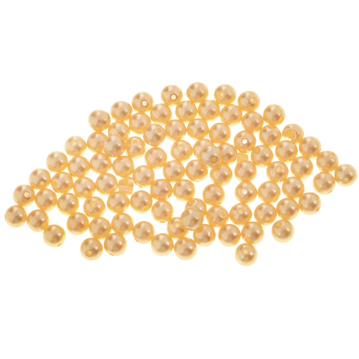 Бусины Астра, цвет: темно-бежевый (004), диаметр 8 мм, 25 г7706545_004Набор бусин Астра, изготовленный из пластика, позволит вам своими руками создать оригинальные ожерелья, бусы или браслеты. Круглые бусины имеют цветную серединку и непрозрачный цвет с перламутровым оттенком. Изготовление украшений - занимательное хобби и реализация творческих способностей рукодельницы, это возможность создания неповторимого индивидуального подарка. Диаметр бусины: 8 мм.