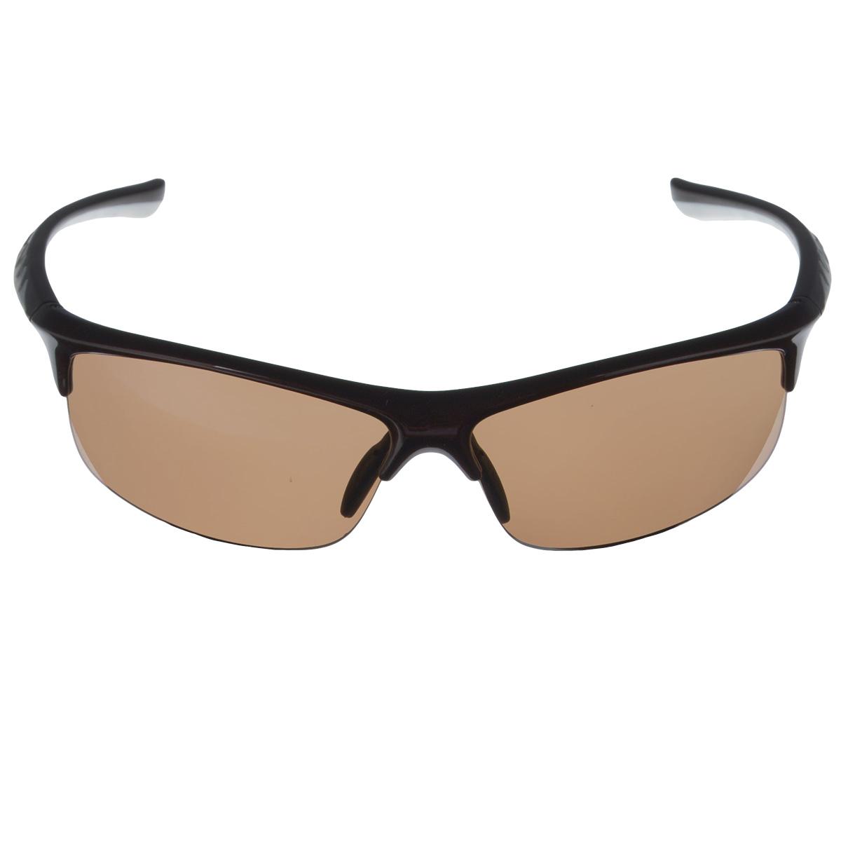 SP Glasses AS021 Premium, Chocolate White водительские очки темныеAS021SP Glasses AS021 Premium - релаксационные комбинированные очки для активного отдыха с коричневым светофильтром. Они рекомендуются для использования в дневное время и ясную погоду для защиты глаз от яркого солнца. Отлично блокируют ультрафиолетовые лучи (UV 400). Наносники: нерегулируемые