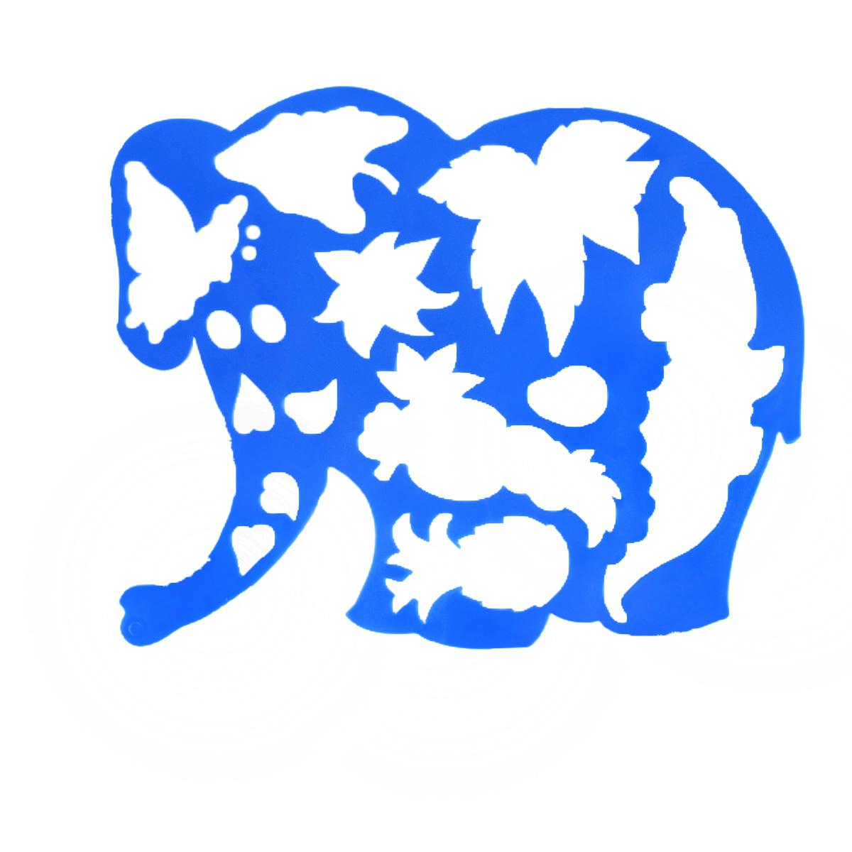 Трафарет фигурный Луч Слоник в джунглях17С 1145-08Трафарет фигурный Луч Слоник в джунглях, выполненный из безопасного пластика, предназначен для детского творчества. При помощи этого трафарета ребенок может нарисовать забавного слоника в диких джунглях. Трафарет можно использовать для рисования отдельных персонажей и композиций, а также для изготовления аппликаций. Трафареты предназначены для развития у детей мелкой моторики и зрительно- двигательной координации, навыков художественной композиции и зрительного восприятия.