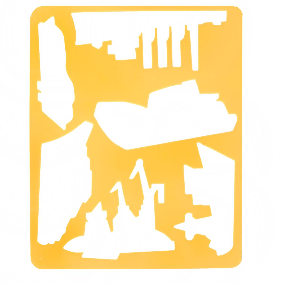 Трафарет прорезной Луч Современные корабли10С 564-08Трафарет Луч Современные корабли, выполненный из безопасного пластика, предназначен для детского творчества. По трафарету маленький художник сможет нарисовать различные виды кораблей. Для этого необходимо положить трафарет на лист бумаги, обвести фигуру по контуру и раскрасить по своему вкусу или глядя на цветную картинку-образец. Трафареты предназначены для развития у детей мелкой моторики и зрительно-двигательной координации, навыков художественной композиции и зрительного восприятия.