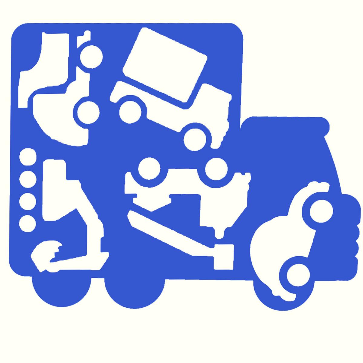 Трафарет фигурный Луч Автомобили, цвет в ассортименте18С 1210-08Трафарет фигурный Луч Автомобили, выполненный из безопасного пластика, предназначен для детского творчества. При помощи этого трафарета ребенок может нарисовать большой автомобиль-грузовик, а также пять маленьких машин разных видов и назначений. Трафарет можно использовать для рисования отдельных машинок и композиций из них, а также для изготовления аппликаций. Трафареты предназначены для развития у детей мелкой моторики и зрительно-двигательной координации, навыков художественной композиции и зрительного восприятия. УВАЖАЕМЫЕ КЛИЕНТЫ! Товар поставляется в цветовом ассортименте. Поставка осуществляется в зависимости от наличия на складе.