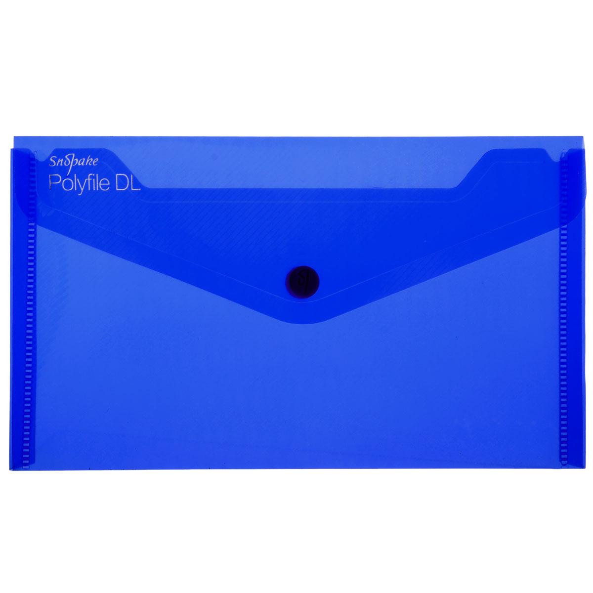 Папка-конверт на кнопке Snopake Polifile DL: Electra, цвет: синийK10035_синийПапка-конверт на кнопке Snopake Polifile DL: Electra это удобный и функциональный инструмент, предназначенный для хранения и транспортировки документов. Папка изготовлена из прочного пластика с рельефной текстурой, закрывается клапаном на кнопку. Содержит одно отделение, которое подойдет для паспорта, водительских документов, пластиковых карт. Папка-конверт - идеальный вариант для путешествий. Такая папка надежно сохранит ваши документы и сбережет их от повреждений, пыли и влаги. Она сочетает в себе классический дизайн и неизменно высокое качество.
