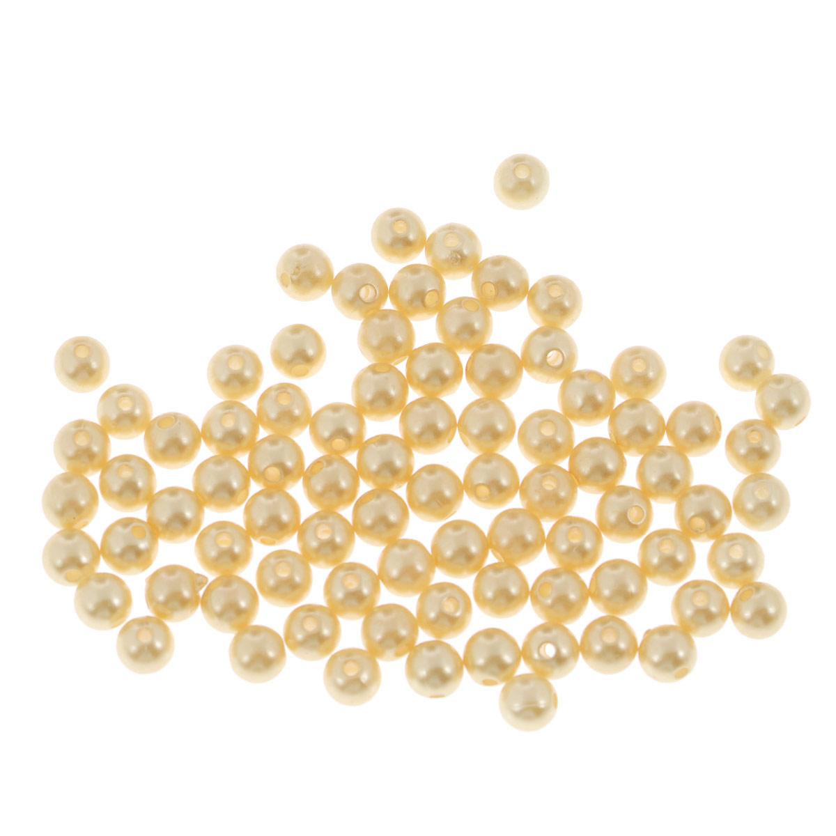 Бусины Астра, цвет: светло-бежевый, диаметр 6 мм, 25 г. 7706544_0057706544_005Набор бусин Астра, изготовленный из пластика, позволит вам своими руками создать оригинальные ожерелья, бусы или браслеты. Бусины оригинального дизайна круглой формы оснащены гладкой поверхностью. Изготовление украшений - занимательное хобби и реализация творческих способностей рукодельницы, это возможность создания неповторимого индивидуального подарка. Диаметр бусины: 6 мм.