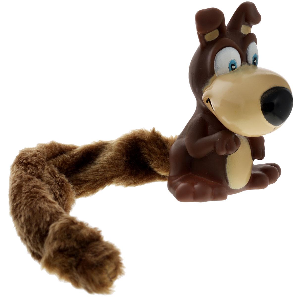 Игрушка для собак Aveva Собака13301Игрушка для собак Aveva Собака, выполненная в виде забавной собачки с плюшевым хвостом, изготовлена из резины. Такая игрушка позволит весело провести время вашему питомцу, а также поможет вам сохранить в целости личные вещи и предметы интерьера. Яркая игрушка привлечет внимание вашего любимца, не навредит здоровью и займет его на долгое время. Длина хвоста игрушки: 20 см.