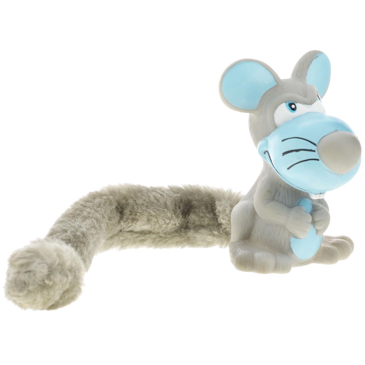 Игрушка для собак Aveva Мышь13303Игрушка для собак Aveva Мышь, выполненная в виде забавной мышки с плюшевым хвостом, изготовлена из резины. Такая игрушка позволит весело провести время вашему питомцу, а также поможет вам сохранить в целости личные вещи и предметы интерьера. Яркая игрушка привлечет внимание вашего любимца, не навредит здоровью и займет его на долгое время. Длина хвоста игрушки: 20 см.