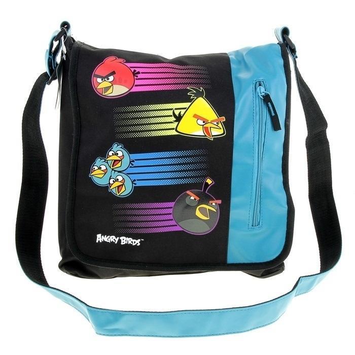 Сумка спортивная Размер 35 х 33 х 6 см. Angry BirdsABBB-UT2-1342Легкая, удобная для ношения, стильная, выполнена из качественного не маркого материала, обладающего высокой влагостойкостью и прочностью. Все отделения и кармашки застегиваются на застежку-молнию. Эта сумка подойдет как для учебы, так и для прогулок и повседневных дел. Имеет большую регулируемую ручку, которая позволяет носить такую сумку школьникам разного роста. Сумка, украшена нанесенным ярким принтом. Внутри имеется объемное отделение для школьных принадлежностей.