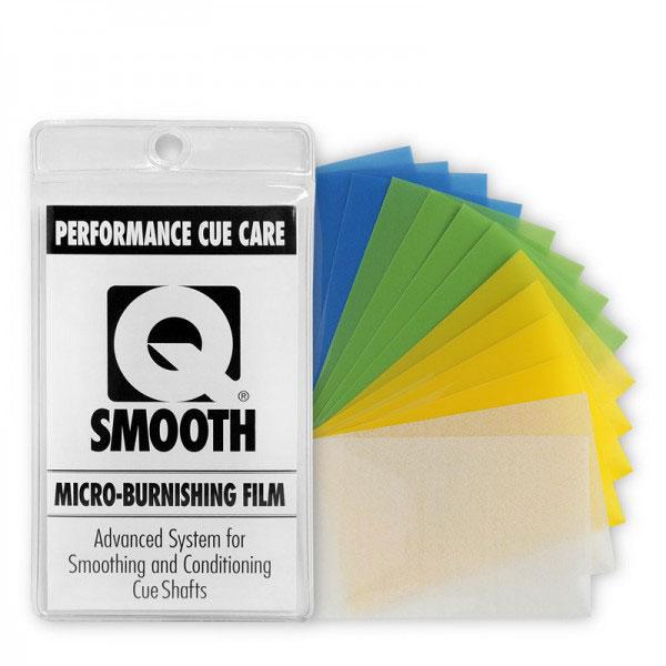 Набор микробумаги для полировки кия PCC Q Smooth, 14 шт5867Набор микробумаги PCC Q Smooth предназначен для полировки кия. Микробумага для полировки кия: делает ваш кий необычайно гладким; легко умещается в бумажнике, кармане и чехле для кия; не поцарапает и не испортит ваш кий; в комплект входит несколько видов бумаги для разной степени полировки; пригодна для повторного использования и стирки; удобна и проста в использовании, даже во время турниров; максимальная ценность при приемлемой цене.