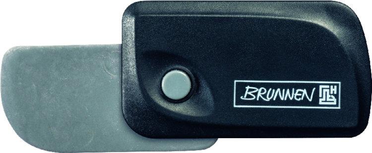 "Brunnen Ластик ""Клик"", цвет: черный 29967-90\BCD"