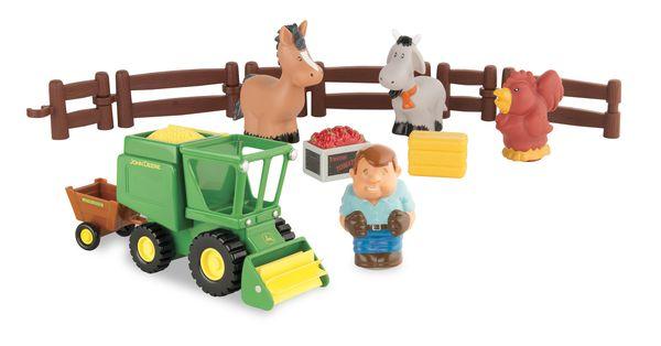 TOMY Моя Первая Ферма –набор Уборка урожая43069A1