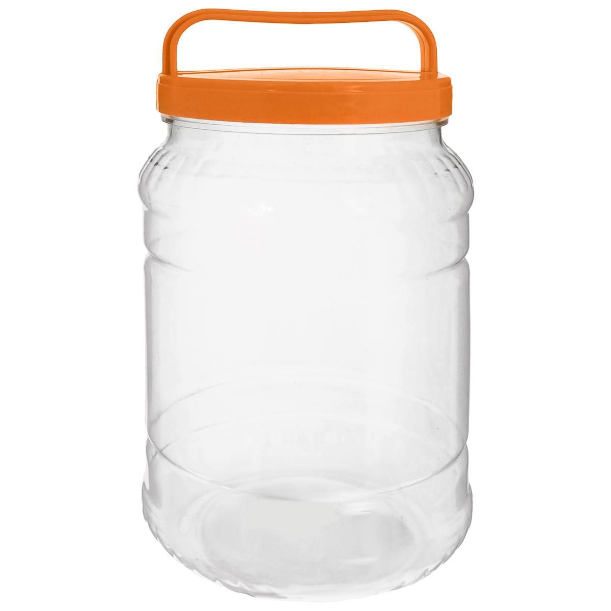 Бидон Альтернатива, цвет: прозрачный, оранжевый, 2 лМ461_оранжевыйБидон Альтернатива предназначен для хранения и переноски пищевых продуктов, таких как молоко, вода и прочее. Выполнен из пищевого высококачественного пластика. Оснащен ручкой для удобной переноски. Бидон Альтернатива станет незаменимым аксессуаром на вашей кухне. Высота бидона (без учета крышки): 20,5 см. Диаметр: 10,5 см.