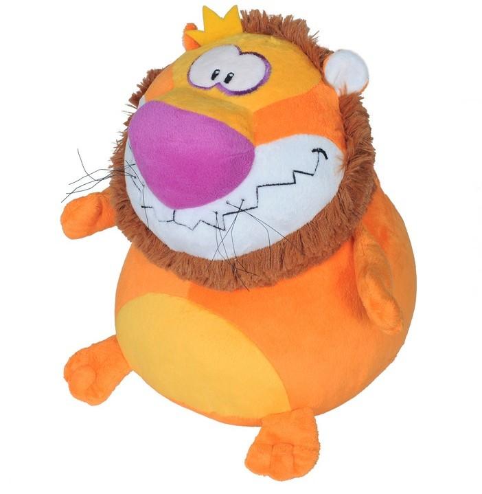 Мягкая игрушка Лев-шарик В29
