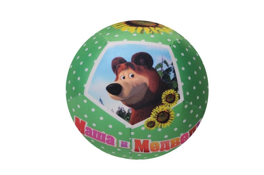 Мяч антистресс Маша и медведь В20