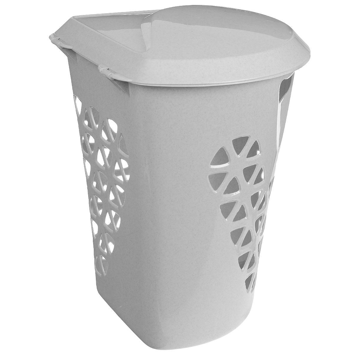 Корзина для белья М-пластика