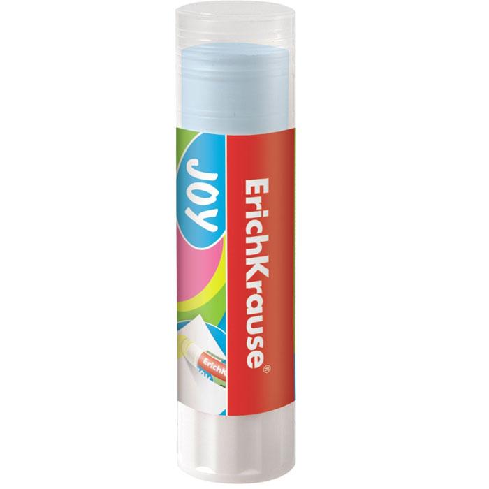 Клей-карандаш Erich Krause Joy, цвет клея: синий, 15 г32791Цветной клей-карандаш Erich Krause Joy идеально подходит для склеивания бумаги, картона и фотографий. Выкручивающийся механизм обеспечивает постепенное выдвижение клеевого стержня синего цвета из пластикового корпуса. При нанесении оставляет цветной след, обеспечивающий более аккуратное наклеивание. Клей-карандаш не деформирует бумагу, быстро сохнет и не оставляет следов после высыхания. Не токсичен.