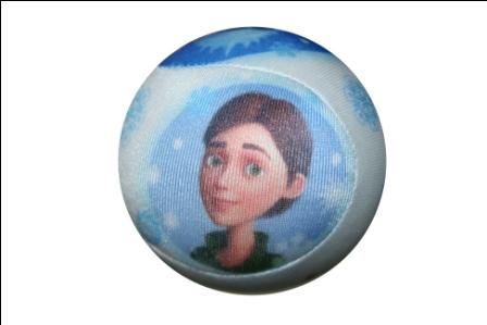 Мячик снежок-антистресс Снежная Королева Д72912/БЕЛ/7
