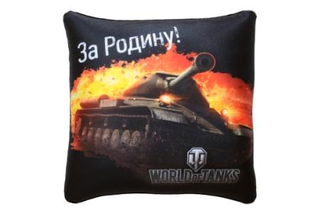 Подушка антистресс World of Tanks В312928-1/ЧН-3/31