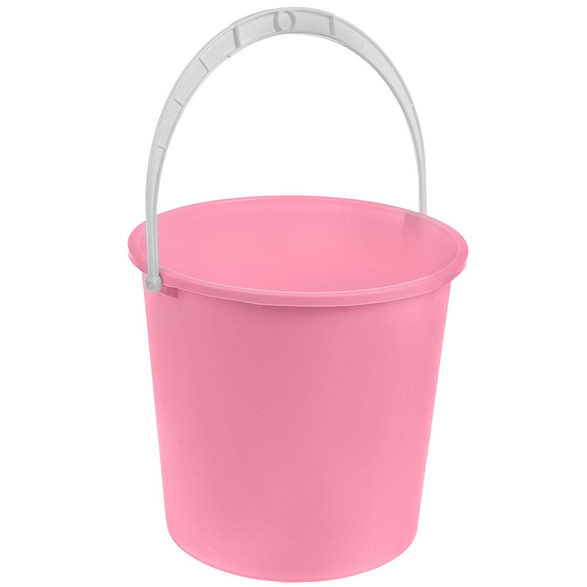 Ведро Альтернатива Крепыш, цвет: розовый, 5 лК340_розовыйВедро Альтернатива Крепыш изготовлено из высококачественного одноцветного пластика. Оно легче железного и не подвержено коррозии. Ведро оснащено удобной пластиковой ручкой. Такое ведро станет незаменимым помощником в хозяйстве. Диаметр: 22 см. Высота: 20,5 см.