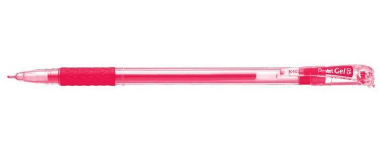 Гел.ручка, мяг.зона захвата, красный.стержень 0.5 мм, в блистереPK405-B