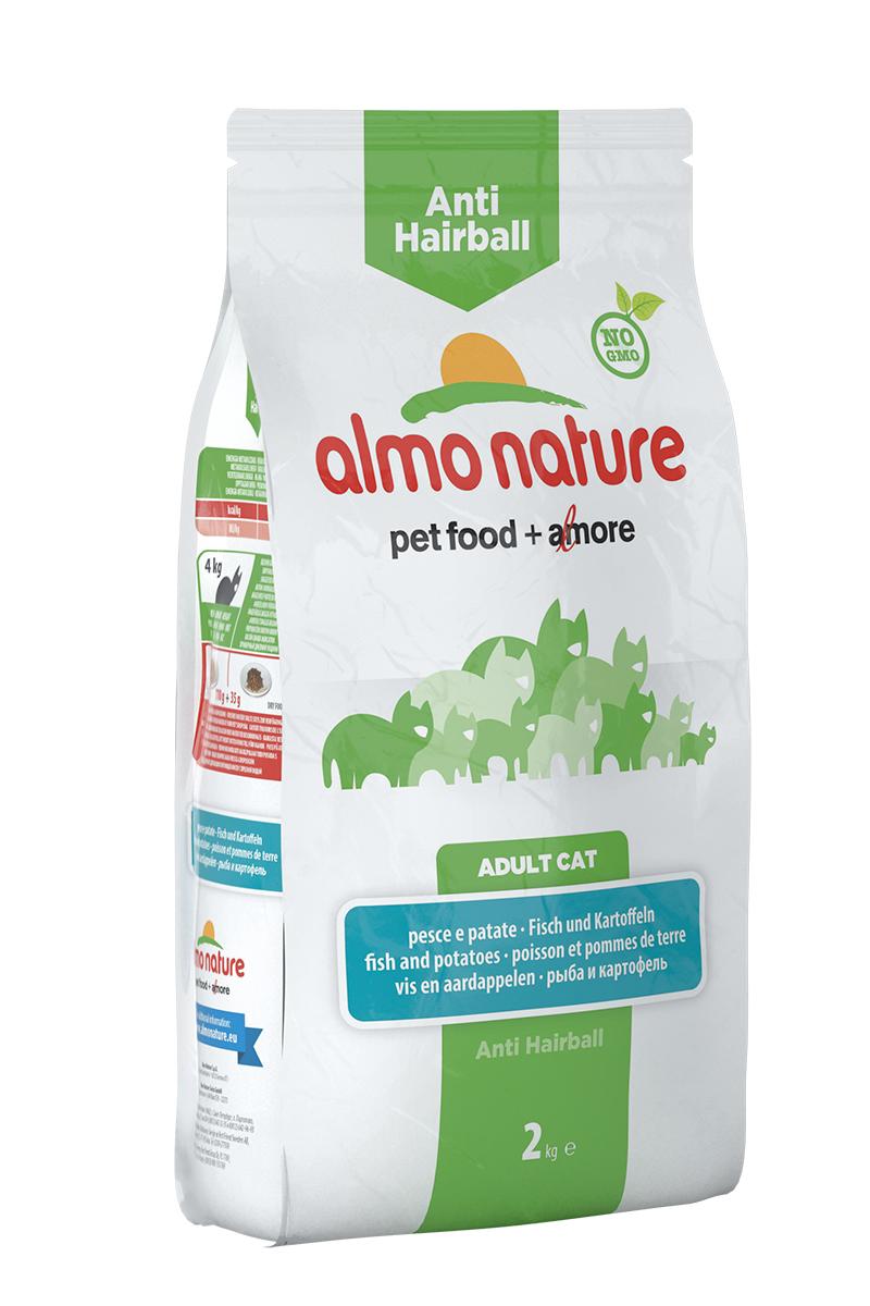 Для кошек контроль вывода шерсти с Рыбой и Картофелем (Functional Adult Anti-Hairball Fish and Potatoes), 2 кг.20361Состав: рыба и ее производные (21% свежая рыба), злаки (рис 14%), овощи (картофель 14%), масла и жиры, производные растительного происхождения (клетчатка 0,5%,Инулин из цикория – источник ФОС-0,15%, юкка шидигера 0,1%), дрожжи, минералы, мананоолигосахариды 0,15%, семена (льняное семя 0,1%). Пищевые добавки: витамин A 25400 IU/кг, витамин D3 1700 IU/kg, витамин E 500 мг/кг, витамин B1 10 мг/кг, витамин B2 8 мг/кг, кальций-D-пантотенат 16 мг/кг, витамин B6 6 мг/кг, витамин B12 0,15 мг/кг, витамин C 50 мг/кг, витамин K 1 мг/кг, биотин 0,50 мг/кг, фолиевая кислота 1 мг/кг, таурин 1000 мг/кг,сульфат меди пентагидрат 32 мг/кг, меди хелат аминокислоты гидрат 40 мг/кг,кальция иодат 1,54 мг/кг, оксид цинка 166,7 мг/кг, цинк хелат гидрат аминокислоты 266,7 мг/кг, сульфат марганца моногидрат 78,1 мг/кг, органический селен 65,2 мг/кг. Пищевая ценность: белки 32%, клетчатка 2,6%, масла и жиры 17,5%, зола 6,5%, магний 0,07%, кальций 1%, фосфор 0,87%, влажность 8,5%. Калорийность: 3650 ккал/кг.
