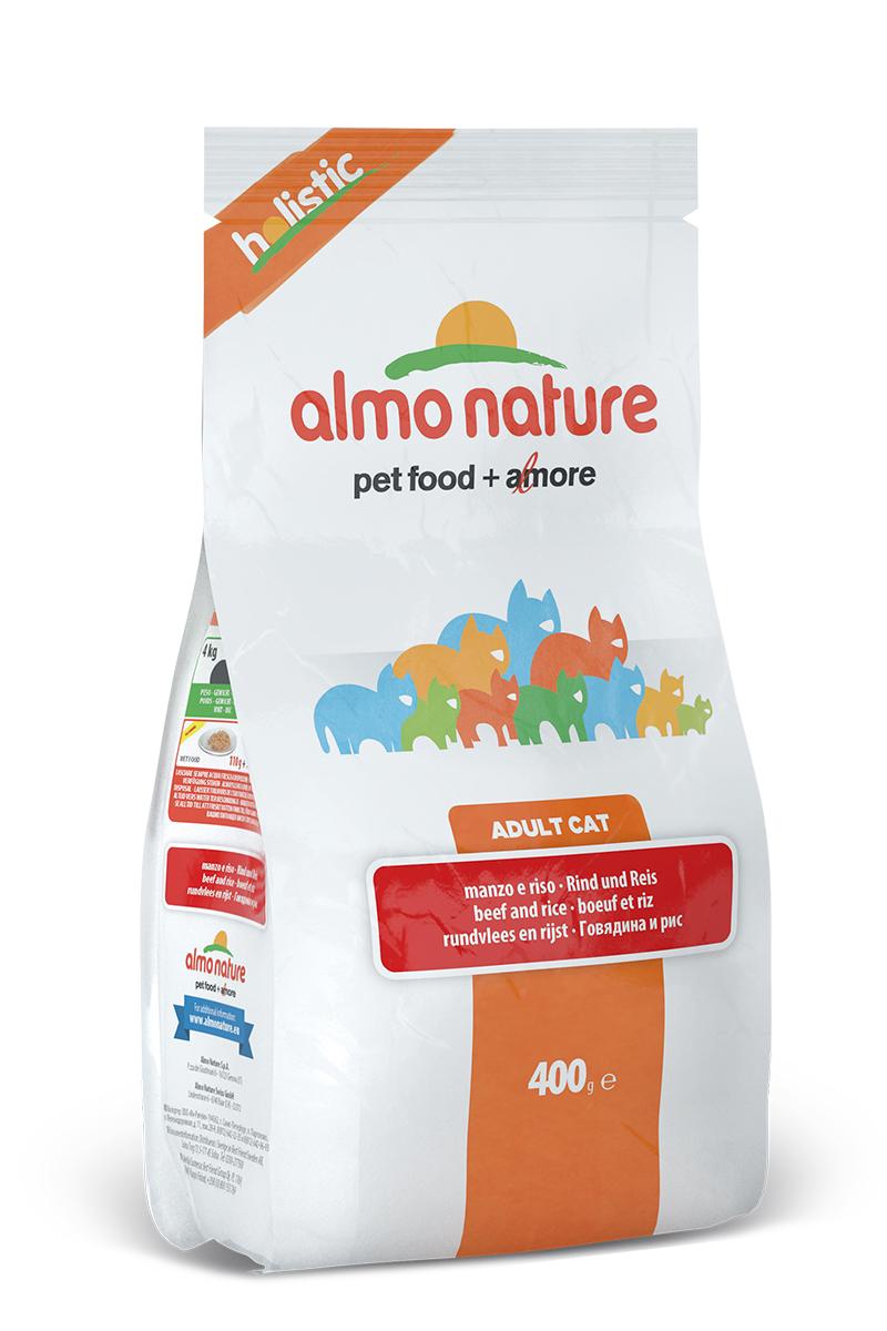 Для взрослых кошек с Говядиной и коричневым рисом (Holistic Adult Cat Adult Beef and Rice), 400 г.20363Состав: мясо и его производные ( из кот. 26% свежей говядины ), злаки ( рис 14%), экстракт растительного белка, масла и жиры, минералы, производные растительного происхождения (Инулин из цикория - источник ФОС-0.1%), мананоолигосахариды. Пищевые добавки: витамин A 25000 IU/кг, витамин D3 1400 IU/кг, витамин E 300 мг/кг, витамин B1 12 мг/кг, витамин B2 14 мг/кг, кальций-D-пантотенат 20 мг/кг, витамин B6 12 мг/кг, витамин B12 0,15 мг/кг биотин 0,50 мг/кг, ниацин 25 мг/кг, фолиевая кислота 1 мг/кг, таурин 1000 мг/кг, DL-метионин 500 мг/кг,сульфат меди пентагидрат 32 мг/кг, меди хелат аминокислоты гидрат 33 мг/кг,кальция иодат 1,64 мг/кг, сульфат цинка моногидрат 222 мг/кг, цинк хелат гидрат аминокислоты 267 мг/кг, сульфат марганца моногидрат 20 мг/кг, органический селен 80 мг/кг. Пищевая ценность: белки 31%, клетчатка 1.5%, масла и жиры 15%, зола 7.5%, влажность 8.5%. Калорийность: 3690 ккал/кг