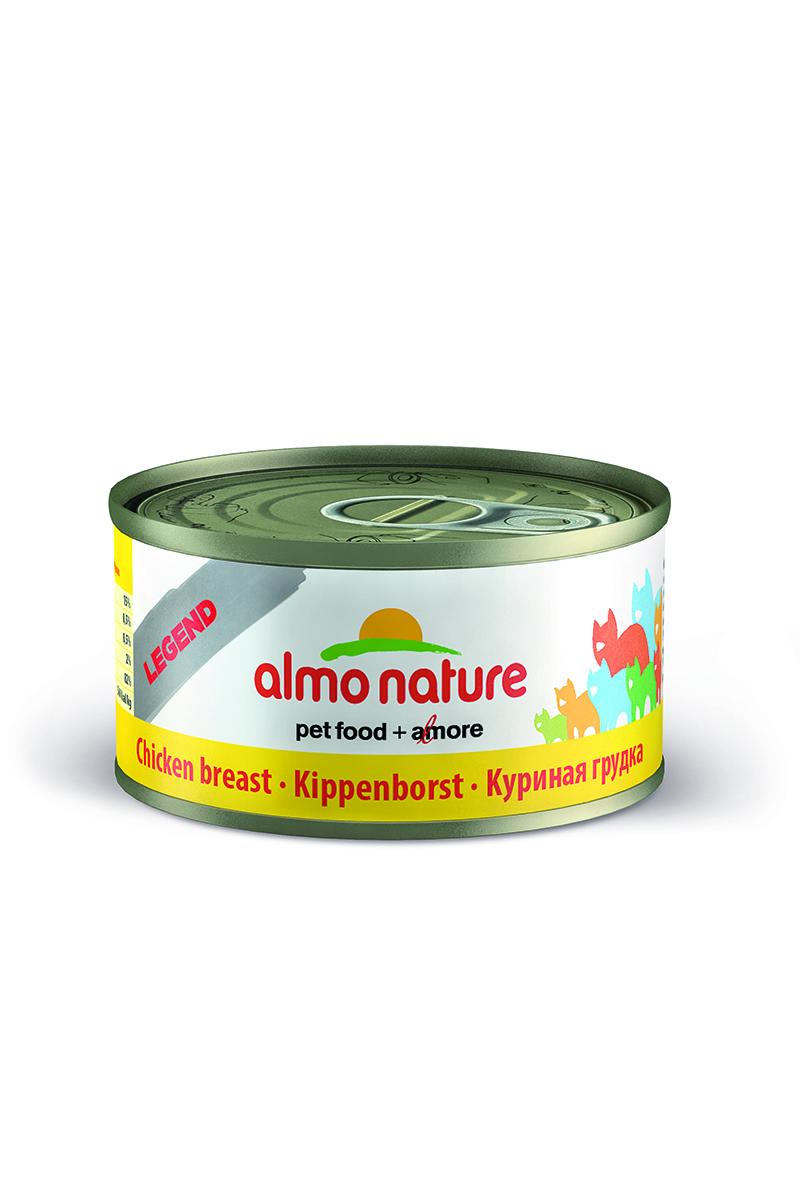 """Консервы для кошек Almo Nature """"Legend"""", с куриной грудной, 70 г 22498"""