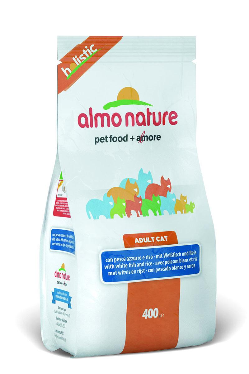 Для Взрослых кошек с Белой рыбой и коричневым рисом (Holistic Adult Cat White Fish&Rice), 400 г.22591Состав: мясо белой рыбы и ее производные 55% (из которых 25% свежего мяса), злаки (рис 14%, ячмень), растительный протеиносодержащий экстракт, жиры, минералы, маннанолигосахариды, фруктоолигосахариды Пищевые добавки: Таурин 1170 мг/кг, DL – метионин 1120 мг/кг, Витамин А 3760 МЕ/кг, Витамин D3 2275 МЕ/кг, Витамин Е 210 мг/кг Микроэлементы: йодат кальция, безводный 1,64 мг/кг, селенит натрия 0,53 мг/кг, сульфат железа моногидрат 321мг/кг, сульфат меди пентогидрат 42 мг/кг, аминокислотный-меди хелат, гидрат 53 мг/кг, аминокислотный-цинка хелат, гидрат 356 мг/кг, сульфат марганца моногидрат 117 мг/кг, сульфат цинка моногидрат 296 мг/кг, аминокислотный-железа хелат, гидрат 21 мг/кг Гарантированный анализ: белки – 31%, клетчатка – 1,5%, жиры – 15%, зола – 8,5%, влажность – 7%
